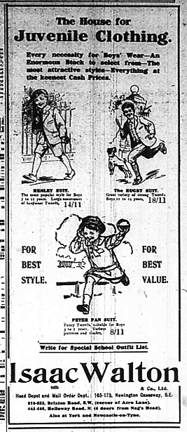Kids fashion 1917