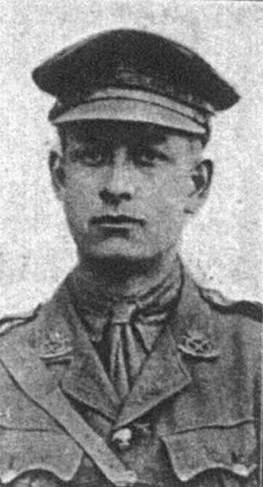 Portrait of Second-Lieutenant John Potter