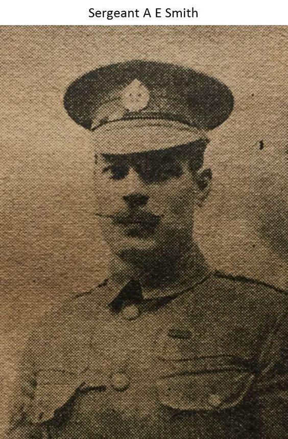 Sergeant A E Smith - 1914