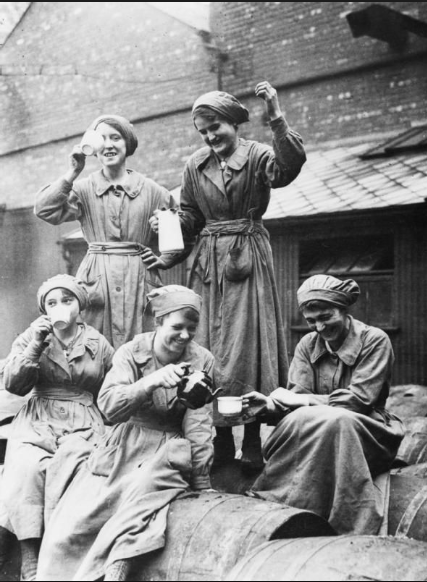 ladies drinking tea