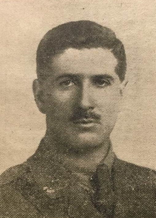 Lieutenant Oswald Payne 1915