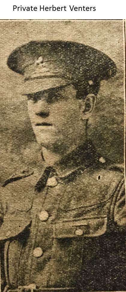 Private Herbert Venters 1914