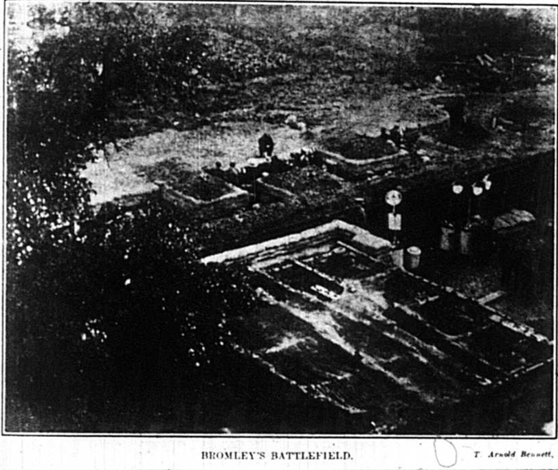 Bromley Battlefield - Footsteps to the Past