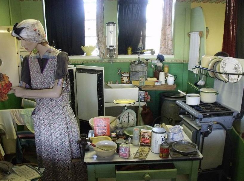 Housekeeping during world war 2