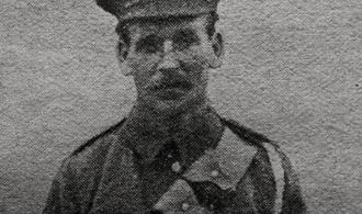 Portrait of Alfred Haffenden