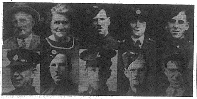 Photos of the Boxall family of Bromley
