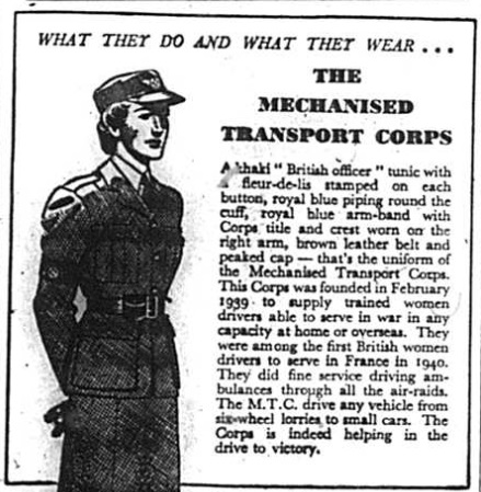 Advert for Lifebuoy toilet soap featuring the Mechanised Transport Corps