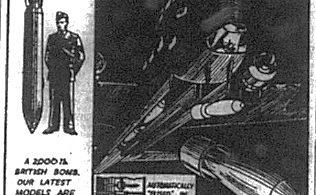 """RAF """"Presents"""" for Hitler"""