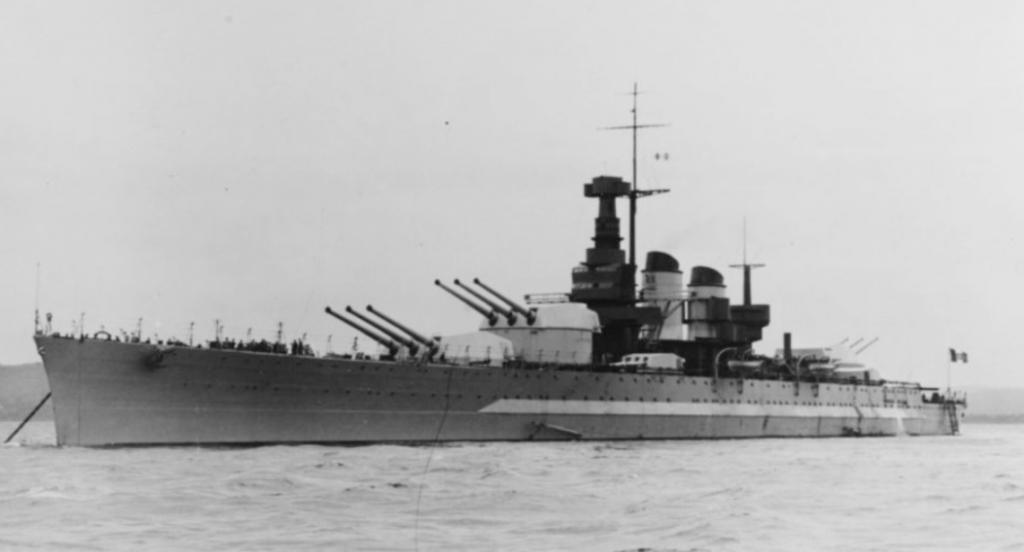 Ships from the Matapan Battle, 1941