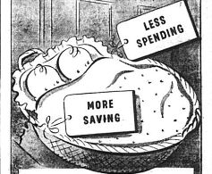 Saving Your Pennies in 1942