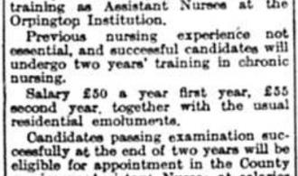 Training of Uncertificated Nurses