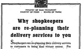 Shopkeepers re-planning their delivery services