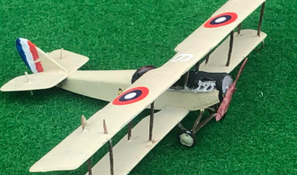 Model of the Curtiss JN-4 aircraft ww1