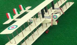 Model of the Italian Caproni Ca.4 aircraft