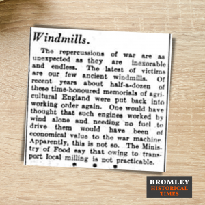 Article about Windmills from 1942