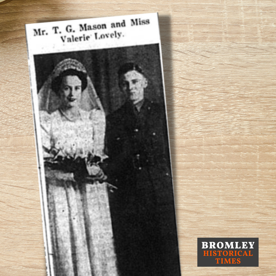Wedding of Mason and Lovely 1942