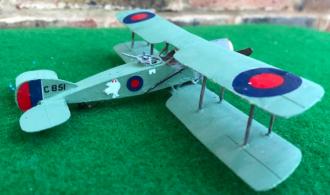 Bristol F2 Fighter scale model