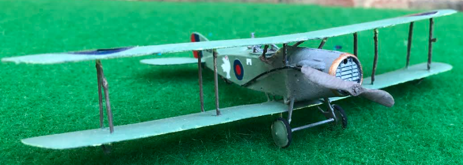 Bristol F2 Fighter scale model aircraft