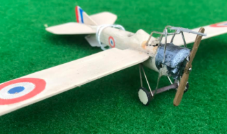 Deperdussin TT scale model French aircraft used in WW1