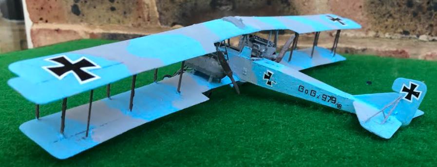 GOTHA G.V. Heavy Bomber Scale Model Aircraft