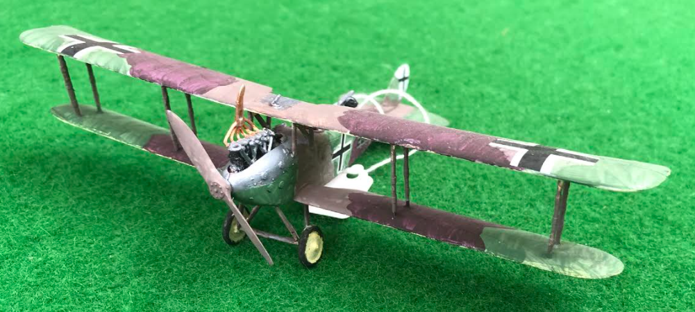 Scale Model of the LVG C.VI German aircraft