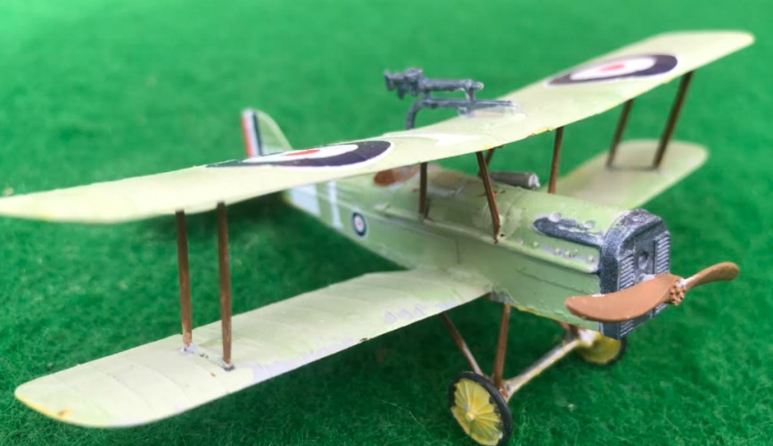 scale model of theROYAL AIRCRAFT FACTORY SE 5A