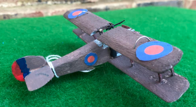 Sopwith 5F.1 dolphin Fighter and night fighter scale model aircraft