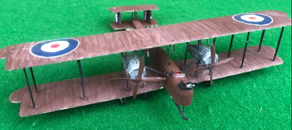 Scale Model fo the Vickers Vimy aircraft