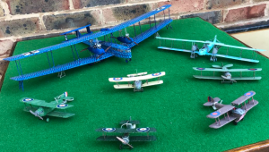 WW1 Aircraft Connected with Biggin Hill – Home Defence Unit – late 1917 to 1918 & German Raiders - 1/72 Scale