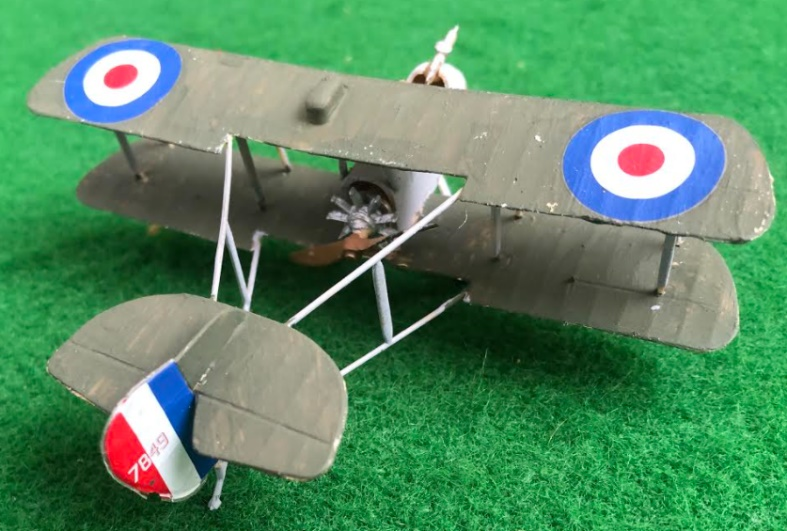 Airco DH.2 British aircraft used in during the first world war
