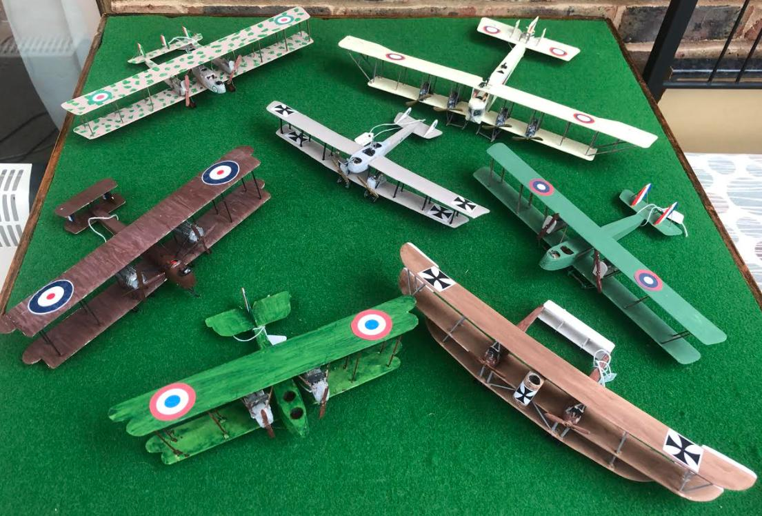Selection of World War One Heavy bombers aircraft from all nations