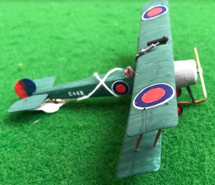 Avro 504 British aircraft used in during the first world war