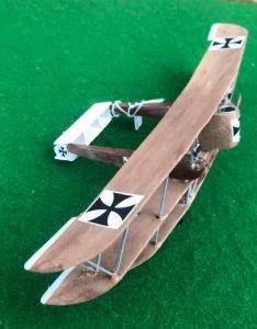 Scale model of the Lloyd 40.08 Luftkreuzer