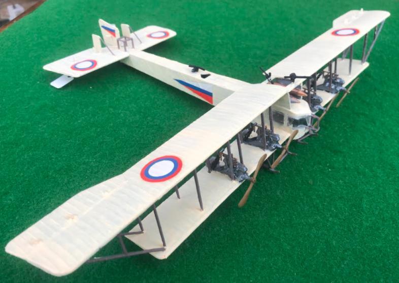 Scale model aircraft: Sikorsky Ilya Muromets