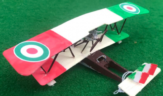 scale model of the Macchi M12 Italian flyingboat aircraft used in during the first world war