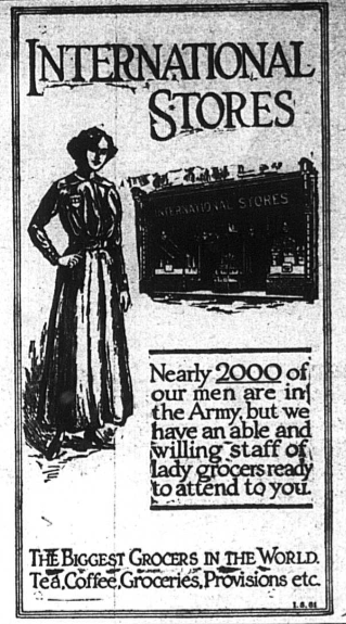 Women-grocers-wartime-bromley