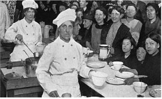 War time school dinners