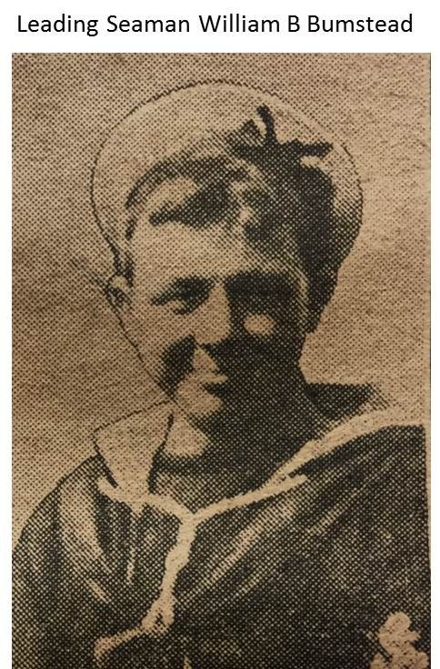 Leading Seaman William B Bumstead - 1914