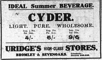 Cyder - the Ideal Summer beverage