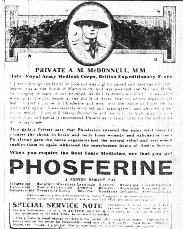 Phosferine-advert