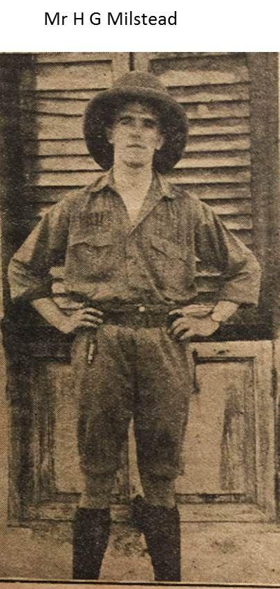 Mr H G Milstead, 1915