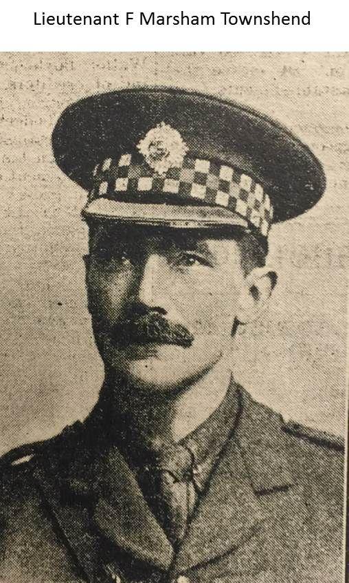 2nd Lieutenant Ferdinand Marshall-Townshend 1915