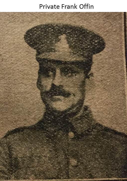 Private Frank Offin 1914