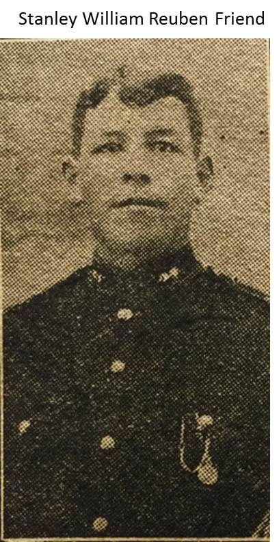 Stanley William Reuben Friend 1914