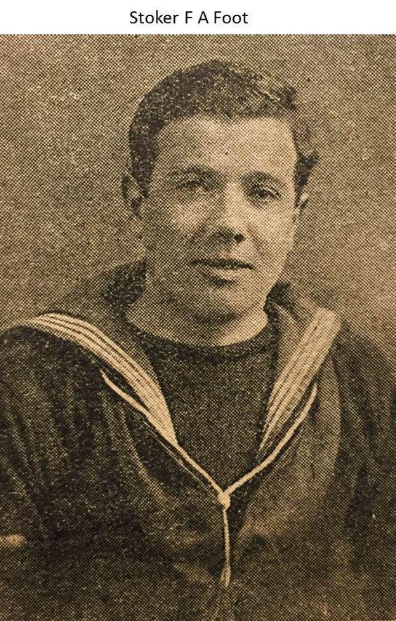 Stoker Fred Arthur Foot 1915
