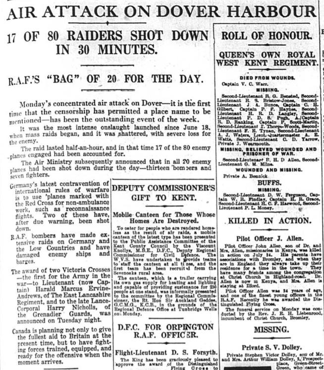 Local Newspaper Reports