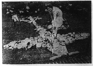 Collecting Pots and Pans, 1940