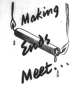 Making Ends Meet - August 1940
