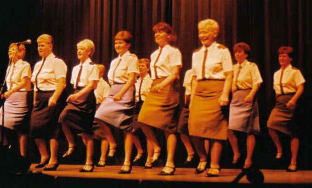 TWERPS on stage