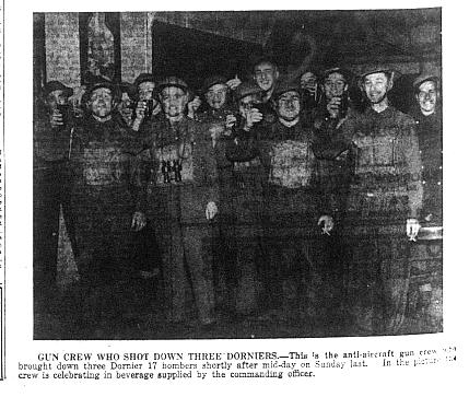 Gun Crew - September 1940